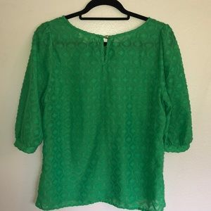 Umgee Tops - UMGEE - size S - green short sleeve blouse